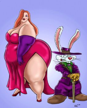 Request: Jessica Rabbit by Ray-Norr