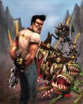 Serious Sam by WolfieArtGuy