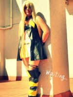 Waiting...- Vocaloid Lily by XNat-atNX