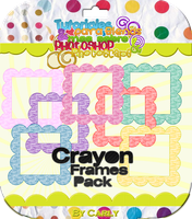 Crayon Frames Pack by carly-ps