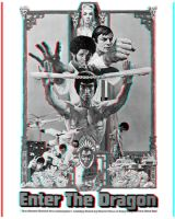 Enter the Dragon Poster 3d by christopherbyrd