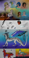 Sketch Dump 2014 vol 1 by TriinuArjus