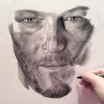 Norman Reedus WIP 2 by PriscillaW