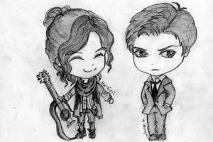 Mu-Gyul and Jung-In by Erhu-Melody