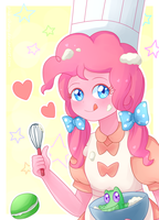 Cooking with a Party Pony by Pika-chanY