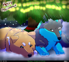 Christmas Puppies by Mookyloo-Old