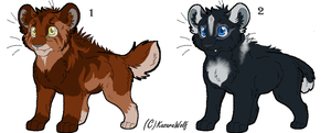 Saber Kits Point Adoptables Set 2 GONE by Kasara-Designs