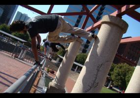 Plaza Parkour by ellysdoghouse