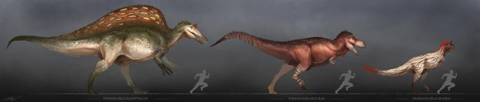 Some Cool Dinosaurs by arvalis