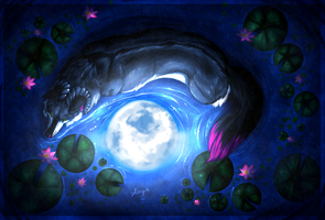 YCH Finished water moon by shinayra