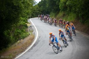 AMGEN Cyclists by comicidiot