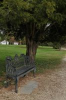 Victorian Bench by lindowyn-stock