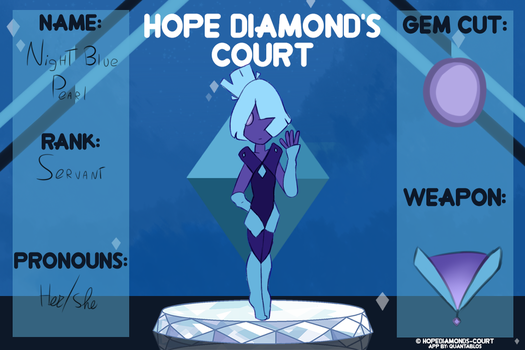 (HDC)Night Blue Pearl by lizzyaster