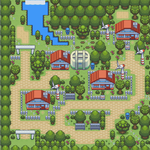 Pokemon Crono Little Town by 19dante91