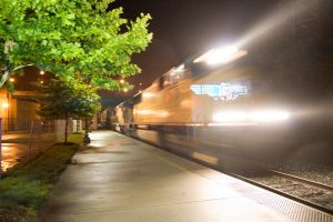 At the speed of...A Blur I by Trainman51