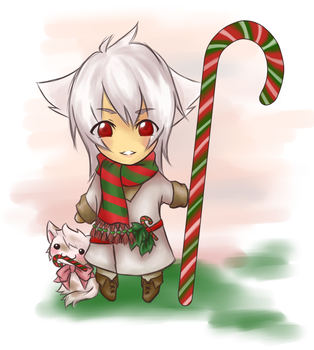 :: Gaia Chibi Xmas Auction :: by ShiroMisaki