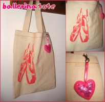 ballerina tote by psycolicious