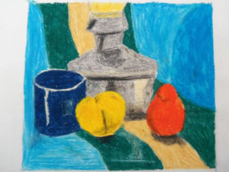 Class Day Unknown - Oil Pastels! by Karasu416