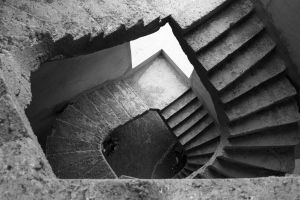 stairs by QiEz