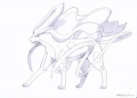 Suicune by cbluv