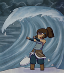 Korra used Avatar State by Plumey