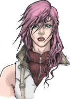 Lightning FFXIII How's looking now by FireDestined4