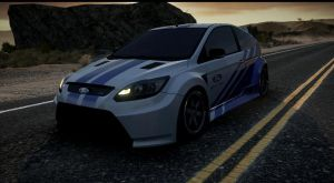 ford focus RS. NFS run by daz1200