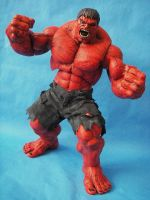 Hot Toys Scale Red Hulk by cusT0M