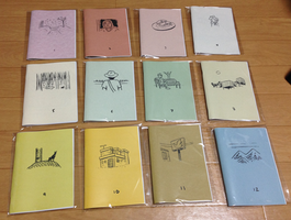 A year of diary comics by naha-def