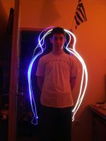 Light painting friend by DR13agoslav