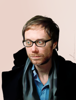 Stephen Merchant by Hortensie-Stone