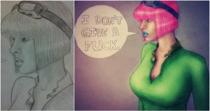 Don't Give No.. by Jessica-Lorraine-Z
