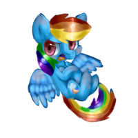 Rainbow Dash by MintyShower