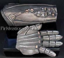 Cyborg Forearm and Hand by Pirkleations