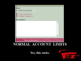 Normal Account Limits by turmadoguetoh