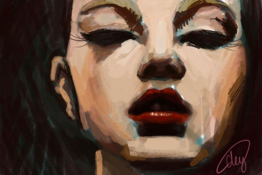 Face study by FireLioness