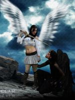 Seducing to an angel by olamever