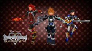 Kingdom Hearts Keyblade War Custom Wallpaper 02 by todsen19