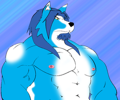 Silven Trey Wolf by GoldPaladinSevlow