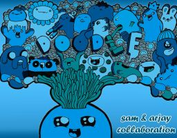 Collaborate To DoodleLate by kinaato