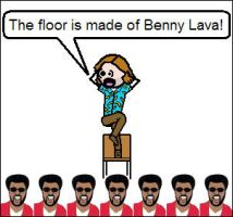 The Floor Is Benny Lava by niboswald