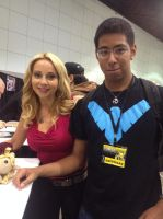 Me and Tara Strong by Blackwind06