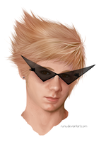 actual 15 year old dirk strider. by ruriu