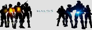 Halo 5 Guardians by w1haaa