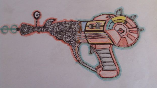 Ray gun Call of Duty Black Ops ZOMBIES by lukaty09