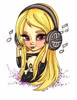 Headphones by JadeDragonne