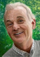 Bill Murray Portrait by rwcombs