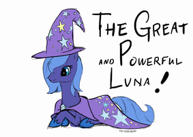 The Great and Powerful Luna by inivonwini