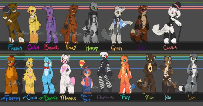 Five Nights at Freddy's AU by Noxivaga