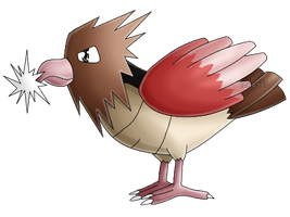 Pokedex #021: Spearow: Peck by izka197